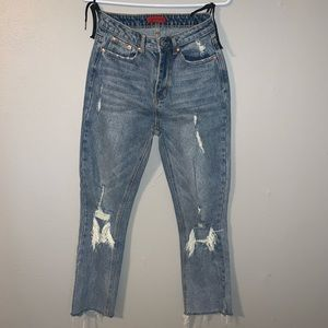 Windsor Jeans - Signature8 ripped jeans with a raw hem